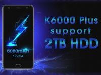 Объявлен релиз смартфона-долгожителя OUKITEL K6000 Plus