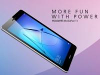 Huawei анонсировала планшеты MediaPad T3 8.0 и T3 7.0