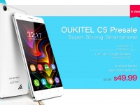 Открыт предзаказ на OUKITEL C5 с Android 7.0 и защищенным HD-экраном за $49.99