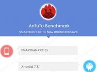 Smartisan OD105 с 4 ГБ ОЗУ и Android 7.1.1 замечен в AnTuTu