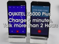 Скидка на OUKITEL K6000 Plus: аккумулятор на 6080 мАч и 12В/2A быстрая зарядка за $169.99