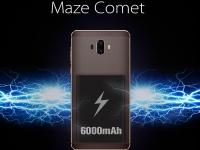 Анонсирован смартфон-«долгожитель» Maze Comet с двойной камерой
