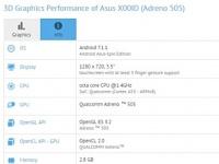 ASUS X00ID с двойной камерой и Android 7.1.1 засветился в GFXBench