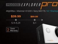 Экшн-камера MGCOOL Explorer Pro в магазине Giztop всего за $39.99