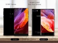 Безрамочный BLUBOO S1 сравнили с Xiaomi Mi Mix