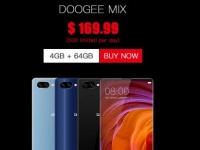 Doogee Mix появится в онлайн магазинах в понедельник 5 июня