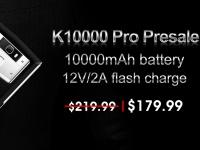 Стартовала предпродажа на смартфон OUKITEL K10000 PRO за $179.99 с батареей на 10000 мАч