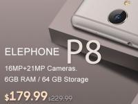 Предпродажа на Elephone P8 за $179.99 в Gearbest.com и специальные скидки на 5 моделей Xiaomi