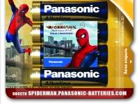 Panasonic выпустил лимитированную серию элементов питания по мотивам фильма «Человек-паук: Возвращение домой»
