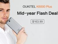 Акционная цена: OUKITEL K6000 Plus за $163.99