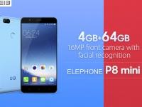 Товар дня: Elephone P8 Mini с 4 ГБ ОЗУ за $139.99 + купоны на 8 топовых смартфонов