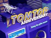 13-летие Tomtop.com: Конкурсы, розыгрыши купонов и скидки