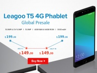 LEAGOO T5 запустили в предпродажу – возможность сэкономить $50 и получить бесплатные подарки!