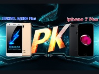 Сравнение OUKITEL K6000 Plus и iPhone 7Plus в скорости зарядки
