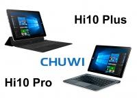 Сравниваем планшеты трансформеры CHUWI Hi10 Pro и Plus