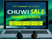 Распродажа техники CHUWI на Geekbuying