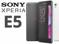 Оцениваем перспективы Xperia E5 – бюджетный смартфон Sony со скромными характеристиками