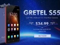 Товар дня: Gretel S55 с 5,5-дюймовым дисплеем от $34,99