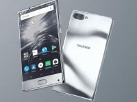 Первое в мире зеркальное серебряное покрытие на телефонах получил DOOGEE MIX Silver