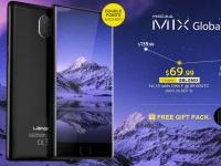Товар дня: LEAGOO KIICAA MIX от $69.99 за безрамочный смартфон с 5,5-дюймовым дисплеем
