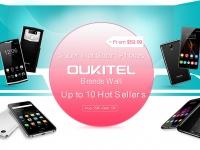 Распродажа: Скидки на OUKITEL в Gearbest - 10 смартфонов по специальной цене