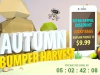 Сентябрь — собираем урожай в Gearbest
