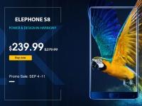 Товар дня: Смартфон Elephone S8 по акционной цене - $239.99 за безрамочній 2K дисплей