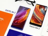 Новости OUKITEL: анонс модели Mix 2 в дизайне Xiaomi Mix 2 и старт предпродажи OUKITEL K10000 Max