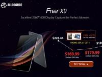 Товар дня: Планшет Alldocube Freer X9 с экраном 2560х1600 от $169.99