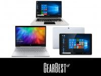 Акция на ноутбуки и планшеты:  Xiaomi Notebook Air, CHUWI Hi13, Jumper EZBOOK 3S и др.