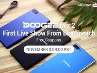 Онлайн-презентация DOOGEE MIX 2 будет завтра!