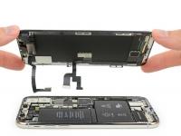 iPhone X побывал у iFixit: две батареи, оценка на уровне iPhone 8