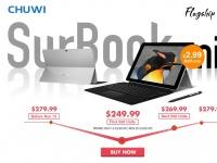 Товар дня: CHUWI SurBook Mini – 2в1 за $249.99 + 9 классных устройств со скидкой