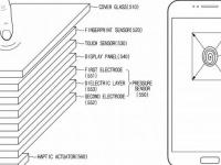 Samsung запатентовала сканер отпечатков пальцев под поверхностью экрана смартфона