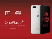 OnePlus представила OnePlus 5T Star Wars Edition на Comic Con