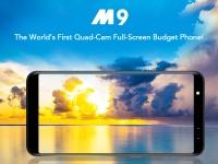 LEAGOO M9: первый в мире четырехкамерный полноэкранный бюджетный телефон!