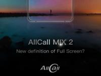 AllCall MIX 2 укомплектуют полноэкранным дисплеем с 2K разрешением