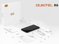 Смартфон OUKITEL K6 показали на официальном видео с распаковки
