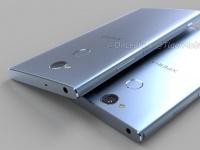 3D-рендер и характеристики Sony Xperia XA2 и XA2 Ultra