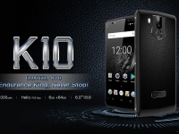 OUKITEL K10 с быстрой зарядкой 5В/5A и батареей на 11000 мАч заряжается за 170 минут