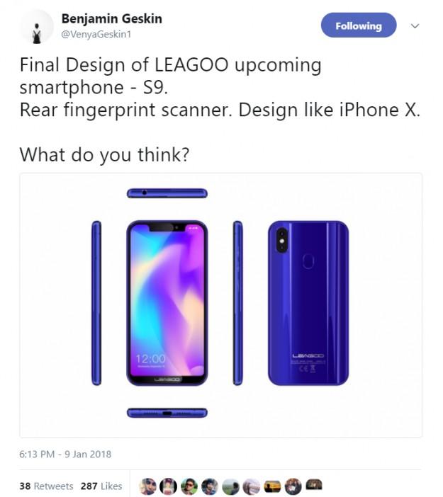 b58f5b6e24f69 Отметим, что сейчас у всех есть шанс выиграть LEAGOO S9 в официальной  дискуссионной кампании на сайте производителя: ...