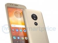 Смартфон Moto E5 со сканером на задней панели показался на рендере