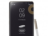 Лимитированная версия Samsung Galaxy Note8 в честь Зимних Олимпийских игр 2018 в Пхёнчхане