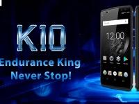 OUKITEL K10 показали в процессе распаковки + 10 основных возможностей смартфона