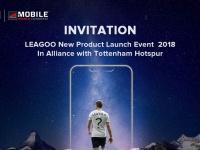 LEAGOO приглашает на CES2018 в Барселону на анонс новых продуктов с партнерстве с ФК Tottenham Hotspur