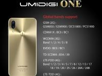 UMIDIGI ONE: стеклянная задняя панель в стиле iPhone X, поддержка глобального диапазоне LTE (утечка рендера)