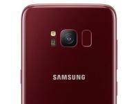 В Украине стартовали продажи Galaxy S8 в новом романтичном цвете – Burgundy Red