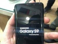 Samsung Galaxy S9 показался на живых фото