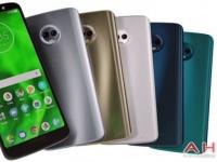 Смартфон Moto G6 Plus покрасят в пять цветов