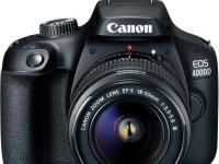 Canon рассекретила зеркальный фотоаппарат EOS 4000D